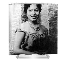 Mattiwilda Dobbs (1925- ) Shower Curtain by Granger