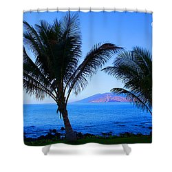 Maui Coastline Shower Curtain