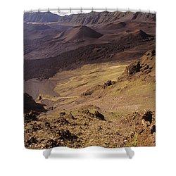 Maui, Haleakala Crater Shower Curtain by Mary Van de Ven - Printscapes