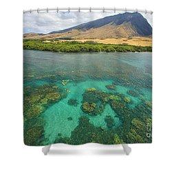 Maui Landscape Shower Curtain by Ron Dahlquist - Printscapes