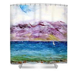 Maui Memory Shower Curtain