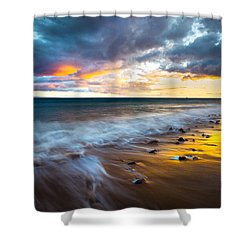 Maui Shores Shower Curtain