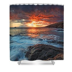 Maui Skies Shower Curtain by James Roemmling