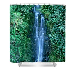 Maui Waterfall Shower Curtain by Bill Brennan - Printscapes