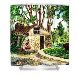 Maui Winery Shower Curtain