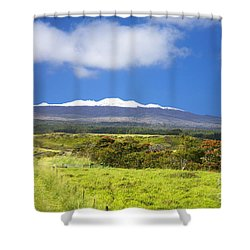 Mauna Kea Shower Curtain by Peter French - Printscapes