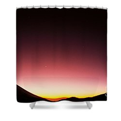 Mauna Kea, Summit Shower Curtain by Mary Van de Ven - Printscapes
