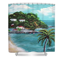 Maunabo Puerto Rico Shower Curtain