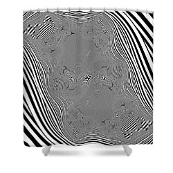 Mauruating Shower Curtain