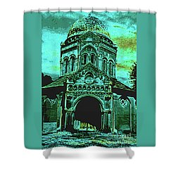 Mausoleum Shower Curtain