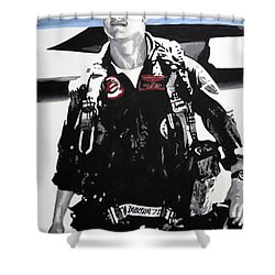 Maverick Shower Curtain