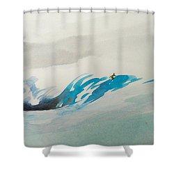 Mavericks Shower Curtain