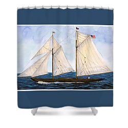 Mavis 1901 Shower Curtain