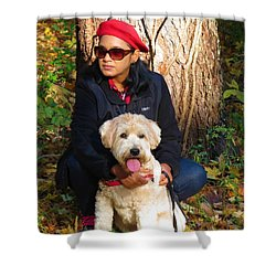 Max Baby Shower Curtain