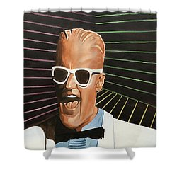 Max Headroom Shower Curtain