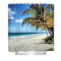 Maxwell Beach Barbados Shower Curtain