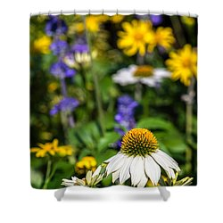 Shower Curtain featuring the photograph May Flowers by Steven Sparks