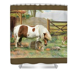 May I Share ? Shower Curtain