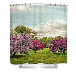 Shower Curtain featuring the photograph May Meadow by Jessica Jenney
