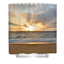 May Sunrise In Obx Shower Curtain