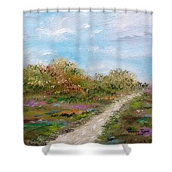 May The Road Rise Up To Meet You Shower Curtain