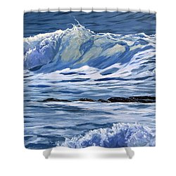 May Wave Shower Curtain