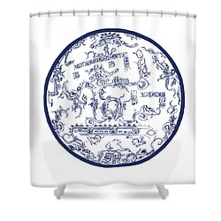 Mayan Cosmos Shower Curtain by Science Source
