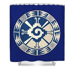 Mayan Hunab Ku Design Shower Curtain