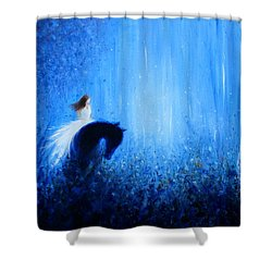 Maybe A Dream Shower Curtain by Kume Bryant