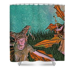 Maybe And Maybe Not 7236 Shower Curtain