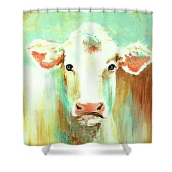 Maybell The Cow Shower Curtain