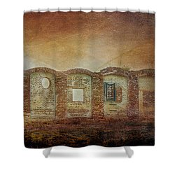 Mayfair Mills Ruins Easley South Carolina Shower Curtain