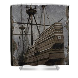 Mayflower 1 Shower Curtain