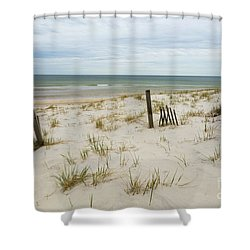 Mayflower Beach Shower Curtain