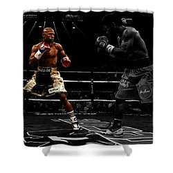 Mayweather And Pacquiao Shower Curtain