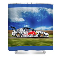 Mazda Rx7 Drift Shower Curtain