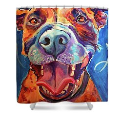 Mazzy May Shower Curtain