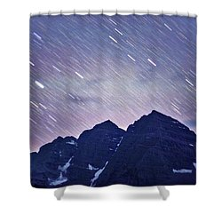 Mb Star Showers Shower Curtain