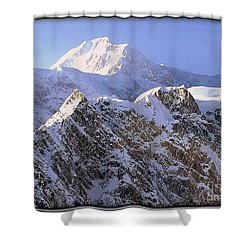 Mc Kinley Peak Shower Curtain