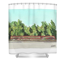 Mcas Miramar Welcome Shower Curtain