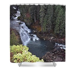 Mccloud River Falls Shower Curtain