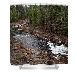 Mccloud River Shower Curtain