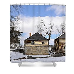 Mccormick Farm 1 Shower Curtain by Todd Hostetter