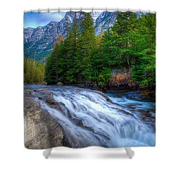 Mcdonald Creek Shower Curtain
