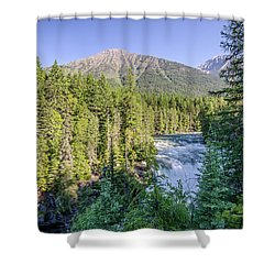 Mcdonald Falls Shower Curtain