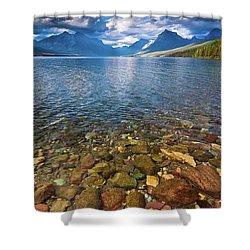 Mcdonald Lake Colors Shower Curtain