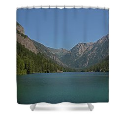 Mcdonald Lake- Ronan Montana Shower Curtain