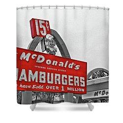 Mc Donald's Museum Shower Curtain