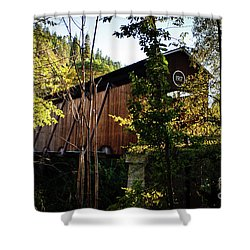 Mckee Bridge Shower Curtain