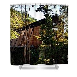 Mckee Bridge Shower Curtain